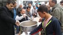 SÜLEYMAN ÖZDEMIR - Sorgun Engelliler Umut Derneği Bin Kişiye Aşure Dağıttı