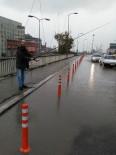 OLTA - Su Baskını Yaşanan Köprüde Oltalı Protesto