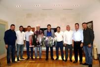 MEHMET ESEN - Yalıkavak Spor Kulübü'nden Başkan Kocadon'a Ziyaret