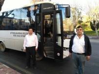 AFYONKARAHISAR BELEDIYESI - Afyonkarahisar'da Otobüs Şoförleri 10 Kasım Geleneğini Bozmadı