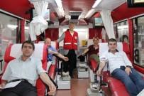 KAN GRUPLARı - Alaçam AK Parti'den Kızılay'a Kan Bağışı