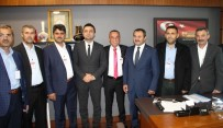 HÜSEYİN SAMANİ - Antalya Esnaf Temsilcileri TBMM'de