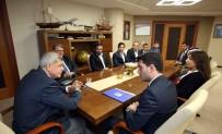 GENÇLİK MECLİSİ - Başkan Karaosmanoğlu, Kent Konseyi Gençlik Merkezi'yle Buluştu