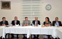 VEZIRHAN - Bilecik Valisi Elban Osmaneli'nde İş Dünyasıyla Bir Araya Geldi