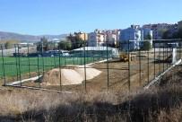 YEŞILKENT - Bozüyük'te Tenis Kortlarının Yapımına Başlandı