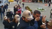 POLİS MÜDAHALE - Bursa'da Terör Zanlıları Sloganlarla Hakim Karşısına Çıktı