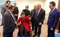 İBRAHIM AYDEMIR - Hayırsever İşadamından Engelli Genç Kıza Akülü Araç Jesti