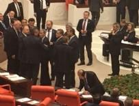 CHP - Meclis'te ortalık bir anda karıştı
