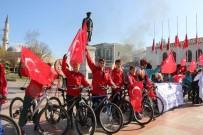 EDİRNE VALİLİĞİ - Pedallar, Atatürk İçin Çevrildi