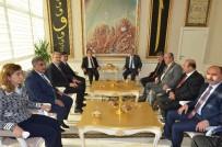 UĞUR POLAT - Rektör Kızılay, Belediye Başkanı Hacı Uğur Polat'ı Ziyaret Etti