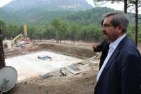NECDET ÜNÜVAR - Aladağ Devlet Hastanesi İnşaatı Kaldığı Yerden Devam Ediyor
