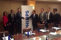 KARBON - Başkan Ataç, Philips CEO'su Rondolat İle Bir Araya Geldi