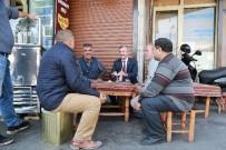 ORTAK AKIL - Başkan Tahmazoğlu Esnafla Bir Araya Geldi