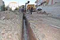 KANALİZASYON ÇALIŞMASI - Gölbaşı İlçesinde Kanalizasyon Çalışmaları Devam Ediyor
