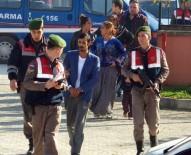 SAHTE KİMLİK - Jandarmanın Üzerine Otomobil Süren Zanlı Adliyeye Sevk Edildi