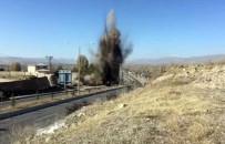 BOMBA İMHA UZMANLARI - Menfeze Döşenen Patlayıcı İmha Edildi