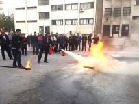 SÖNDÜRME TÜPÜ - Öğretmenlere Yangın Güvenliği Eğitimi