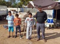 PROTEZ BACAK - Savaş Mağduru Ali Okula Gidebilmek İçin Protez Bacak İstiyor