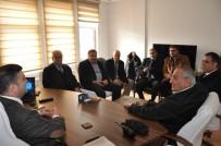 TAŞKıRAN - STK Temsilcileri Emniyet Müdürü Ayhan'ı Ziyaret Etti