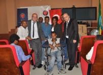 ADDIS ABABA - TİKA'dan Mekele Üniversitesi'nde Bulunan Engelli Öğrencilere Destek