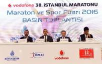 TÜRKİYE ATLETİZM FEDERASYONU - Vodafone 38. İstanbul Maratonu'nun Basın Toplantısı Yapıldı