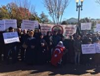 SÜRGÜN - Ahıska Türkleri Beyaz Saray önünde toplandı