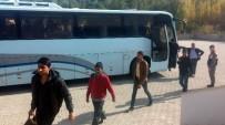 ÇAMYUVA - Antalya'da Kaçak Göçmen Operasyonu