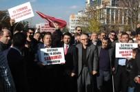 GAZİ YAKINLARI - Avusturya Büyükelçiliği Önünde Protesto