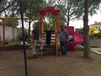 SU ARITMA TESİSİ - Ayvacık'ta Köylere Çocuk Oyun Grubu Kuruldu