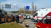Balıkesir'de Korkutan Kaza Açıklaması 1 Ağır Yaralı