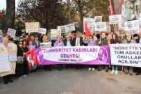 TÜRKIYE GENÇLIK BIRLIĞI - Beşiktaş'ta Kapatılan 'Askeri Okullar' İçin Eylem