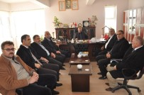 ERCAN YILMAZ - Bulanık STK Temsilcilerinden Milli Eğitim Müdürüne Anlamlı Ziyaretler
