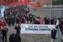 93 HARBİ - Çat Belediyesi Ecdadına Yürüdü