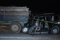 MEHMET AK - Düzce'de Feci Kaza Açıklaması 1 Ölü, 2 Yaralı