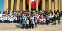 ANıTKABIR - Rotaryenler Atatürk İçin Mevlit Okutup 350 Çocuğu Anıtkabir'e Götürdü