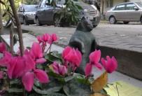 FENOMEN - 'Tombili'nin Heykeli Yeniden Yerine Dikildi