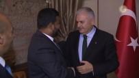 SRI LANKA - Yıldırım, Sri Lanka Ticaret Bakanı Bathuideen'i Kabul Etti