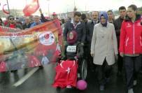 GAZİ YAKINLARI - Bakan Kaya, Vodafone 38. İstanbul Maratonu'na 15 Temmuz Gazileriyle Katıldı