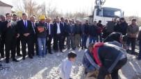CEMEVI - Doğanşehir'de Cemevi Temeli Atıldı