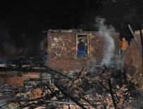 SAMANLıK - Evlerinde çıkan yangın 2 kardeşe mezar oldu