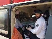 AMBULANS HELİKOPTER - Kalp Hastası 2 Günlük Bebek Ambulans Helikopterle Ankara'ya Sevk Edildi