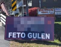 ABD BAŞKANI - Pensilvanya'da 'Trump senin için geliyor FETO Gülen' pankartı