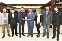 29 EKİM CUMHURİYET BAYRAMI - Ak Partili Gençlerden Başkan Gürkan'a Ziyaret
