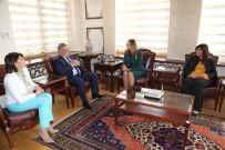 AZERBAYCAN CUMHURBAŞKANI - Azerbaycan Milletvekili Ganira Paşayeva, Vali Aykut Pekmez'i Ziyaret Etti