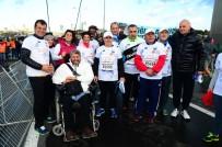 OMURİLİK FELÇLİLERİ - Başkan İmamoğlu, Maratonda Omurilik Felçlileri İçin Koştu