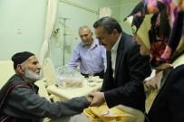 ABDULLAH KARAKUŞ - Başkan Tutal'dan Hastane Ziyareti