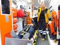 KAYGıSıZ - Bilecik'te Trafik Kazası,1 Yaralı