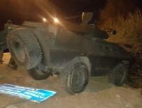 HAREKAT POLİSİ - Bingöl'de zırhlı aracın geçişi sırasında patlama: 2 polis yaralı