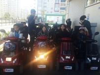 TRAFİK EĞİTİM PARKI - Çocuk Parkında Uygulamalı Trafik Eğitimi