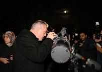 ASTRONOMI - İstanbullular Süper Ay'ı Teleskoplarla İzlediler